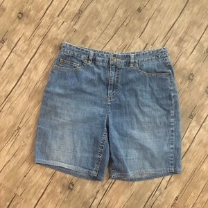 Talbots Jean Stretch Shorts Good Condition